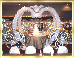 cinderella wedding decorations